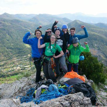 Klettern – ob mit Schuh oder ohne! – Orpierre 2017