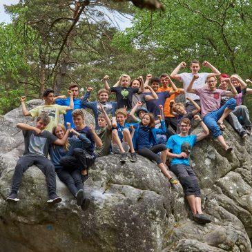 Unsere Himmelfahrt – Fontainebleau 2018